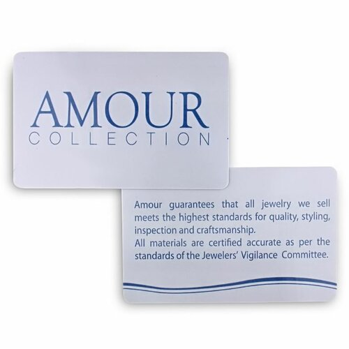 Amour Round Cut Diamond Stud Earrings