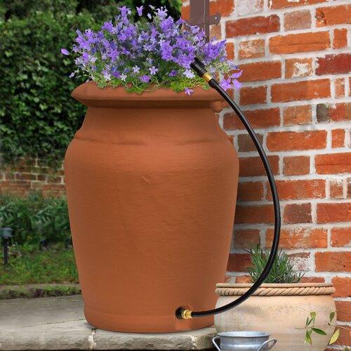 Yimby 50 Gallon Urn Style Rain Barrel