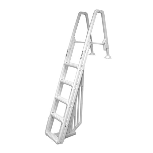 Confer Plastics Evolution Inpool 5-step Ladder with Barrier