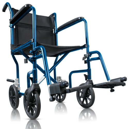 AMG Hugo Ultra Lightweight Transport Wheelchair