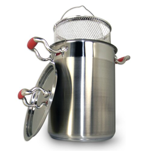 4.25-Quart Professional Stainless Steel 3 Piece Vegetable Cooker Set
