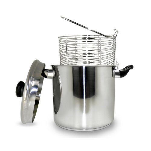 5.68 Liter Stainless Steel Stove Top Deep Fryer