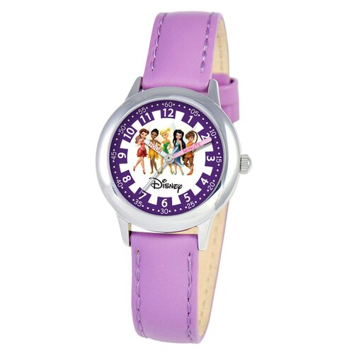 Kid's Fairies Time Teacher Watch in Purple