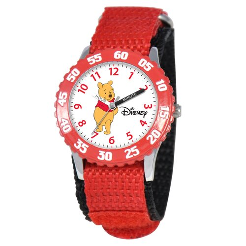 Kid's Tigger Time Teacher Watch in Red