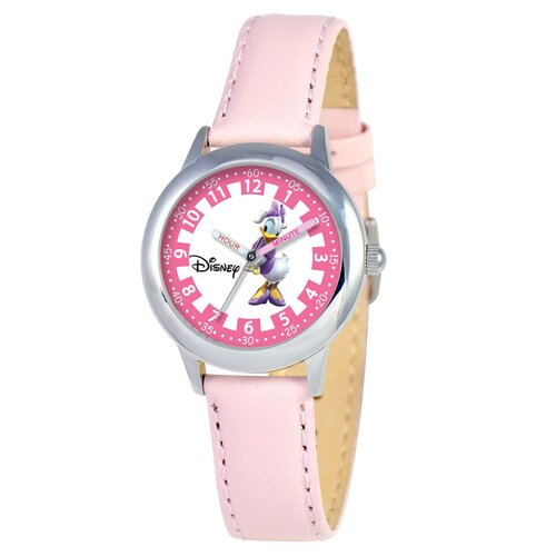 Kid's Daisy Duck Time Teacher Watch in Pink