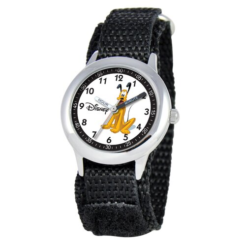 Kid's Pluto Time Teacher Watch in Black
