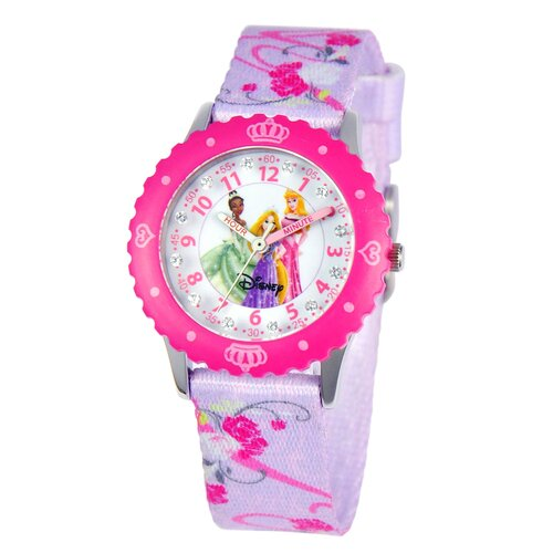 Disney Girl's Glitz Princess Time Teacher Watch