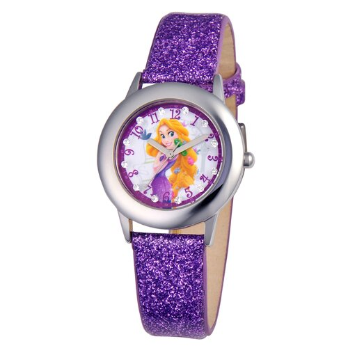 Girls Tween Glitz Rapunzel Watch