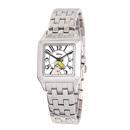 Disney Women's Tinker Bell Perfect Square Bracelet Watch