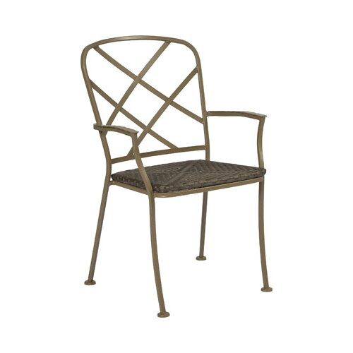 Woodard Aberdeen Stacking Dining Arm Chair