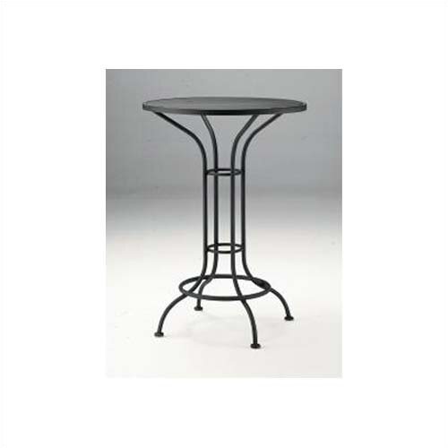 Woodard Bar Height Outdoor Round Mesh Top Bistro Table