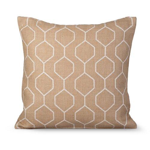 Pyramid Burlap Pillow