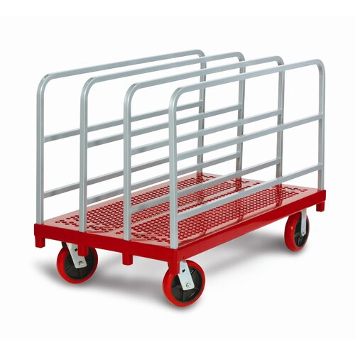 Raymond Products Heavy Duty Panel/Sheet Mover Quiet Poly Casters Table Dolly