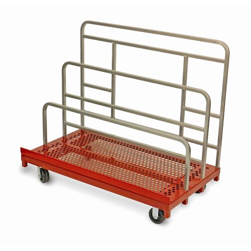 Raymond Products Coated Heavy Duty Waterfall Panel and Sheet Mover Table Dolly