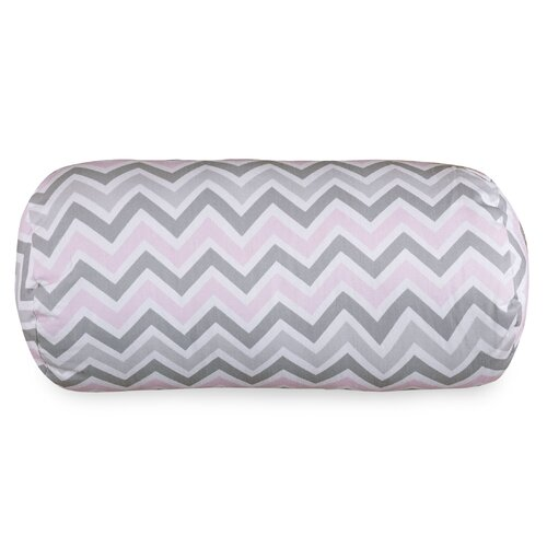 Zoom Zoom Round Bolster Pillow