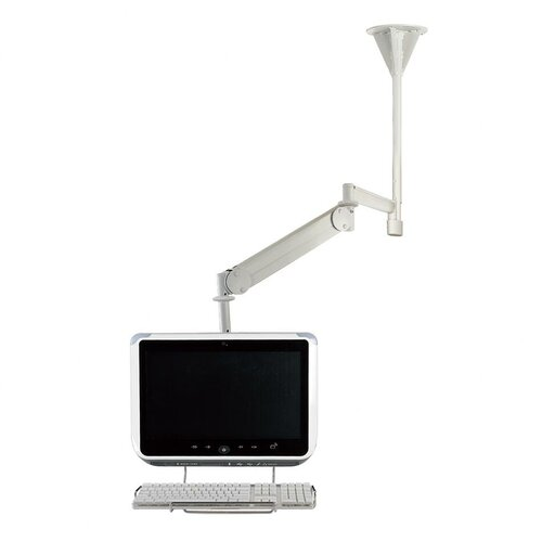 Cotytech Long Reach LCD Ceiling Mount with Front Keyboard Holder