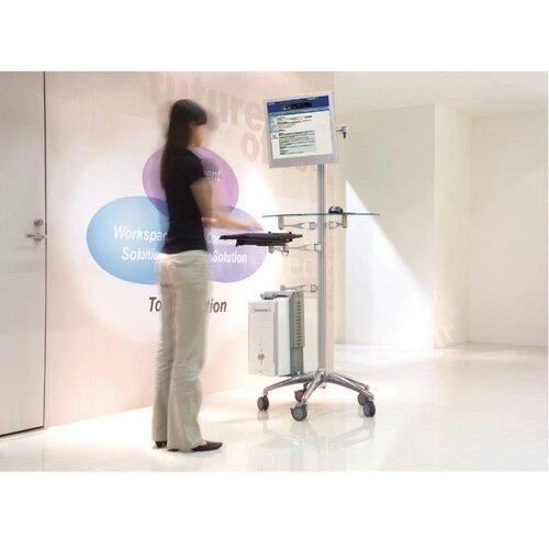 Cotytech Adjustable Ergonomic Mobile Workstation Stand