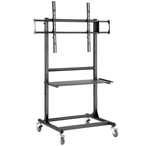 "Cotytech Adjustable Ergonomic Mobile TV Cart for 56"" - 70"" Screen"