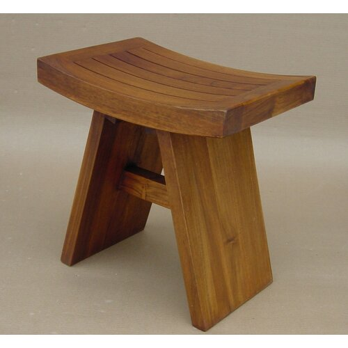 Aqua Teak Asiana Teak Shower Stool