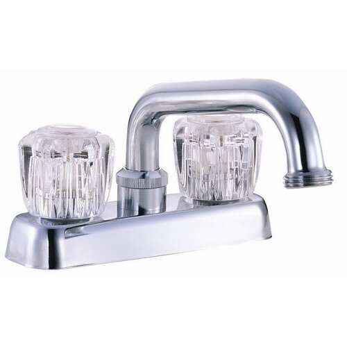 Design House Double Handle Laundry Tub Faucet Trim