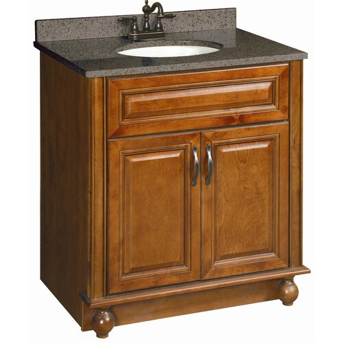 "Design House Montclair 30"" Double Door Cabinet Vanity Base"