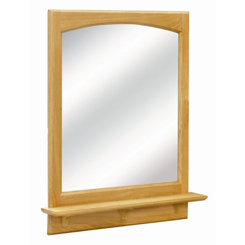 Richland Wall Mirror with Open Shelf