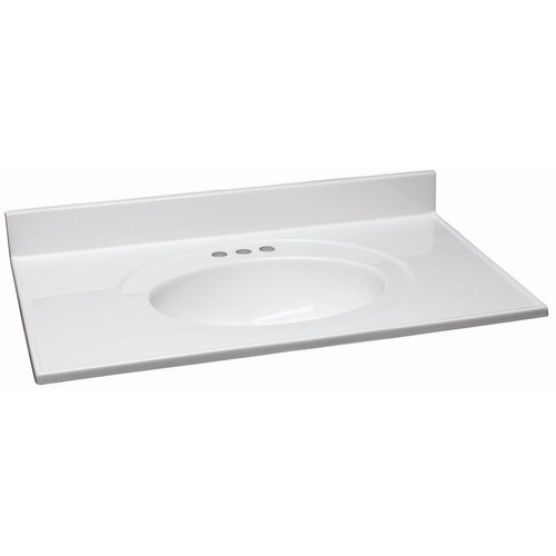 "Design House 31"" Single Bowl Vanity Top"