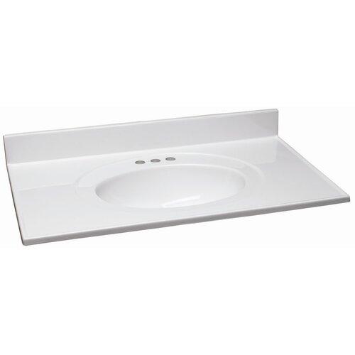 "Design House 61"" Single Bowl Vanity Top"