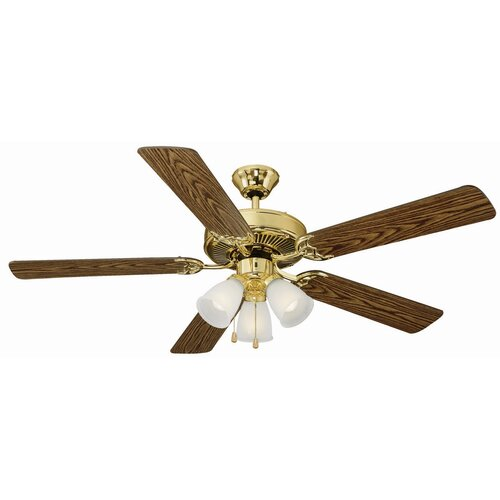 "Design House 52"" Mill Bridge 5 Blade Ceiling Fan"
