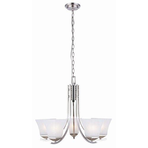 Design House Torino 5 Light Chandelier