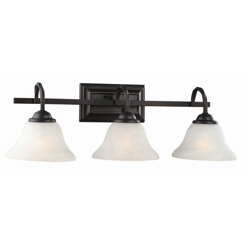 Design House Drake 3 Light Bath Vanity Light