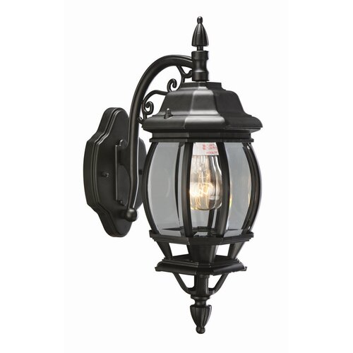 Design House Canterbury 1 Light Outdoor Downlight Wall Lantern