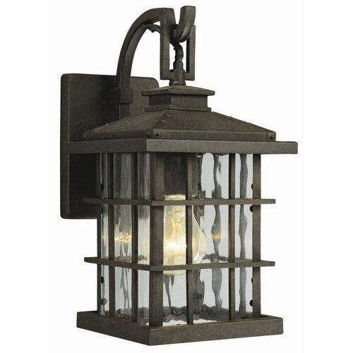 Design House Townsend 1 Light Outdoor Downlight Wall Lantern