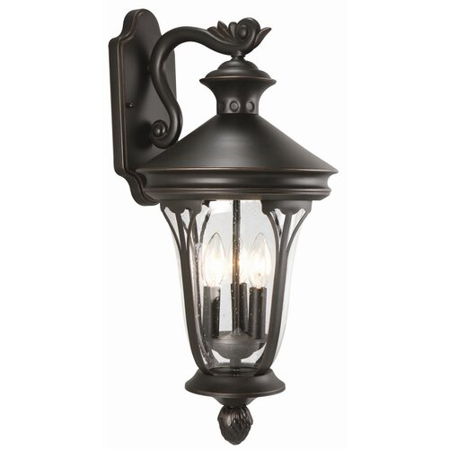Design House Corbett 1 Light Outdoor Downlight Wall Lantern