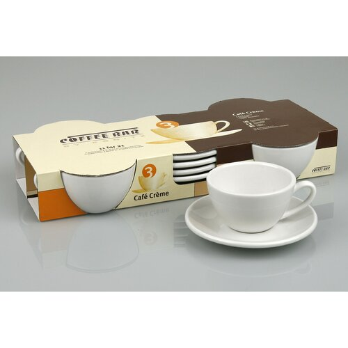Konitz Coffee Bar 3 oz. Cafe Creme Cup and Saucer