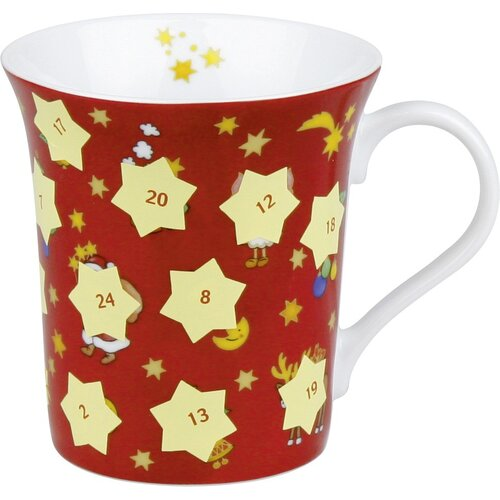 Konitz Holiday Advent Scatch Off Mug