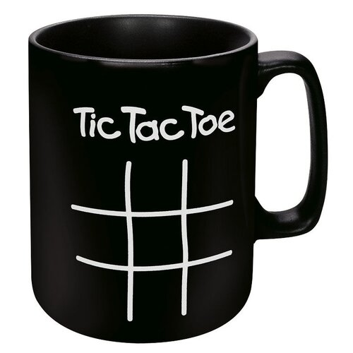 Konitz Chalk Talk Tic Tac Toe Mug