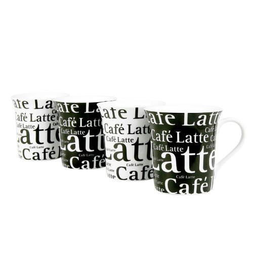 Konitz Assorted Caffelatte Writing 12 oz. Mug
