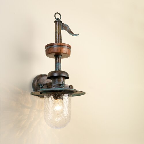Lustrarte Lighting Nautic Pirates 1 Light Wall Sconce