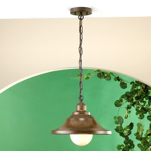 Lustrarte Lighting Charleston 1 Light Outdoor Pendant