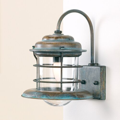 Lustrarte Lighting Nautic Caravela 1 Light Wall Sconce
