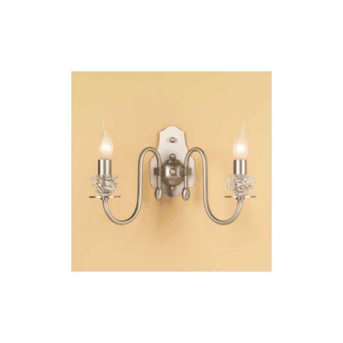 Lustrarte Lighting Classic Class 2 Light Wall Sconce