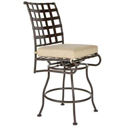 "OW Lee Classico 27"" Barstool with Cushion"