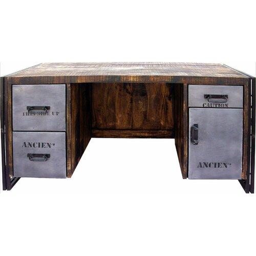 MOTI Furniture Addison 4 Drawer Desk