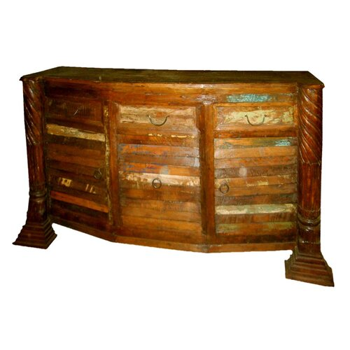 MOTI Furniture Beech Home Bar