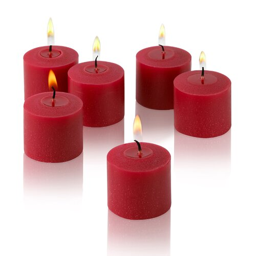Light In the Dark Unscented Votive Candles (Set of 12)