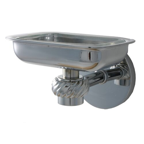 Allied Brass Universal Soap Dish with Glass Liner