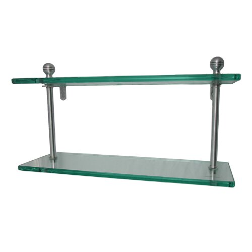 Universal Double Bathroom Shelf