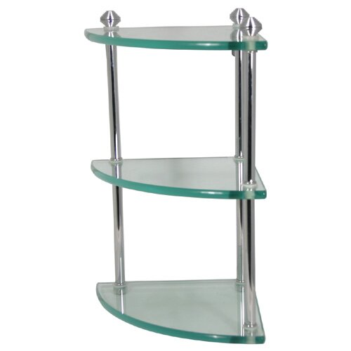 "Allied Brass Southbeach 8.25"" x 15"" Bathroom Shelf"