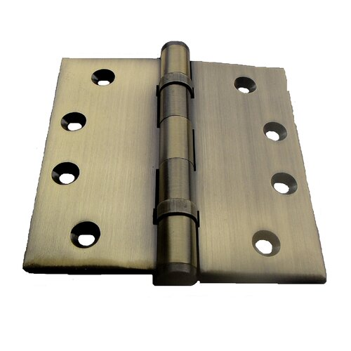 "Double Hill USA 4"" H x 4"" W Ball Bearing Door Hinge"